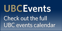 Find More Events at UBC Events