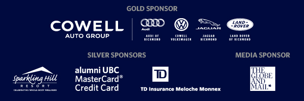 alumni UBC Achievement Awards sponsors