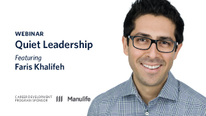 Webinar - Quiet Leadership, featuring Faris Khalifeh