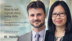 Webinar - How to tell a great story using data