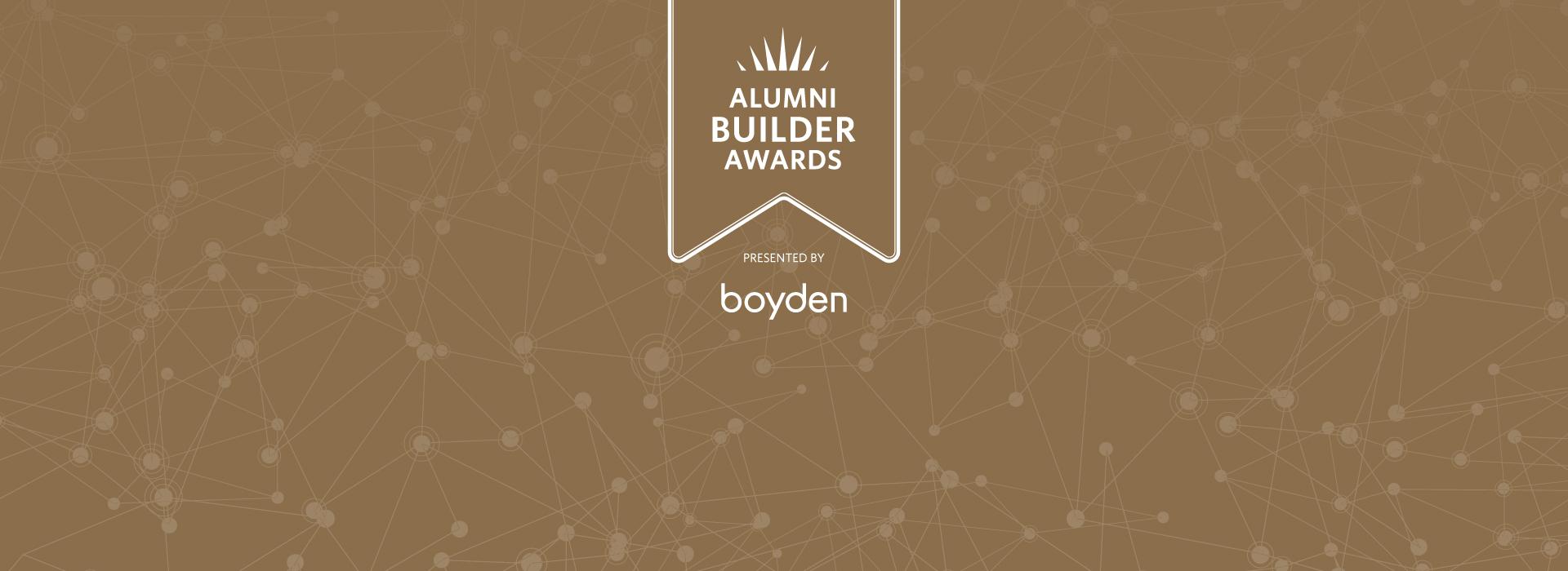 Announcing the 2020-21 Alumni Builder Award recipients