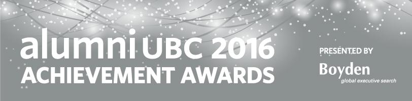 2016 alumni UBC Achievement Awards