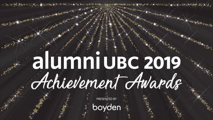 alumni UBC 2019 Achievement Awards - Presented by Boyden