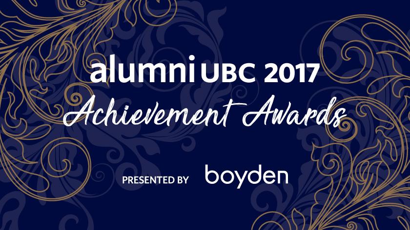 alumni UBC 2017 Achievement Awards - Presented by Boyden