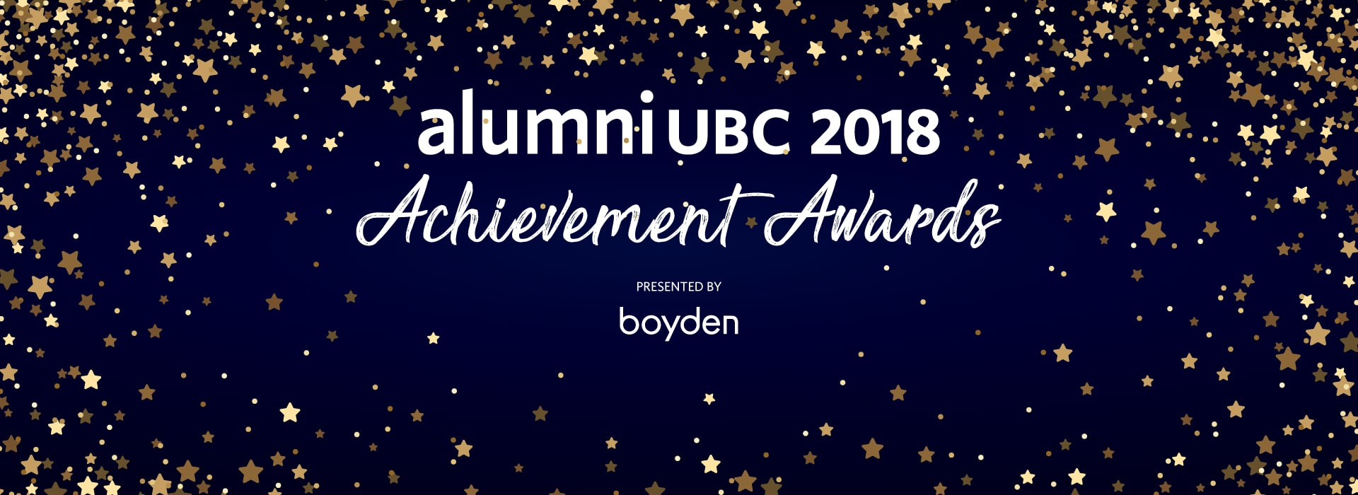 Announcing the alumni UBC 2018 Achievement Awards Recipients
