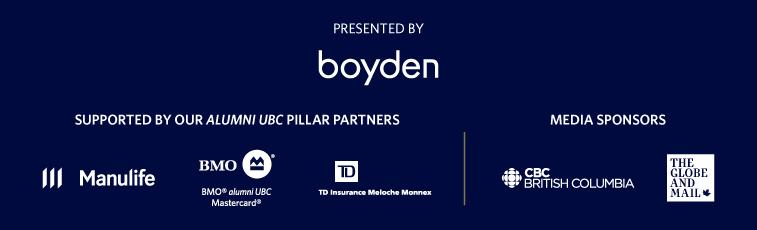 alumni UBC Achievement Awards sponsors