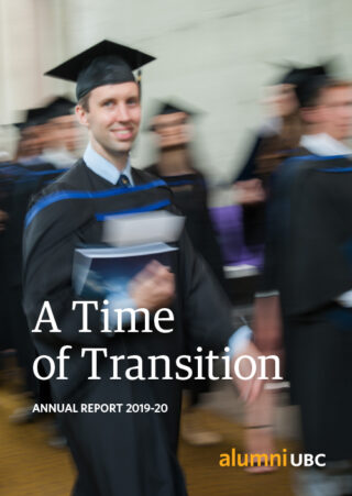 alumni UBC 2019-20 Annual Report - A Time of Transition