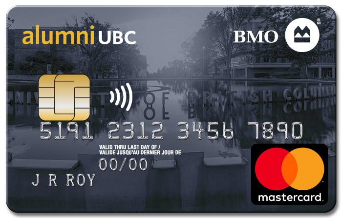 BMO alumni UBC Mastercard