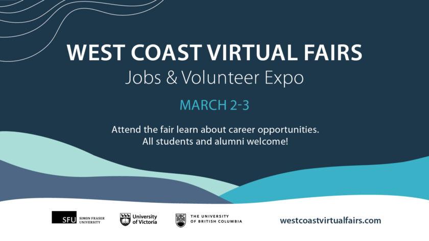 West Coast Virtual Fairs
