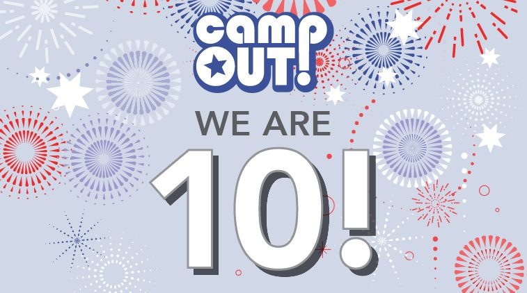 Tenth Annual Evening in Support of CampOUT!