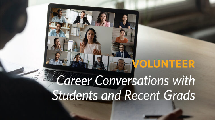 Volunteer - Career Conversations with Students and Recent Grads