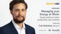 Webinar - Managing Your Energy at Work