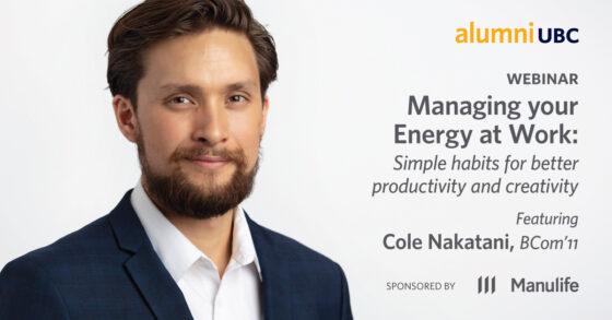 Webinar - Managing Your Energy at Work