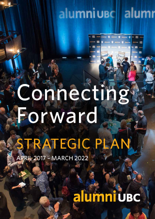 Connecting Forward - alumni UBC Strategic Plan 2017-2022