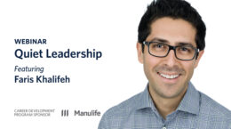 Webinar - Quiet Leadership featuring Faris Khalifeh