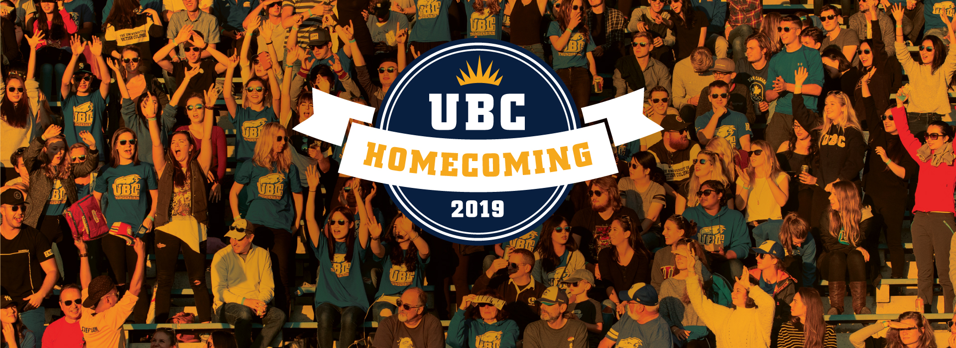 UBC Homecoming - Saturday, September 14, 2019