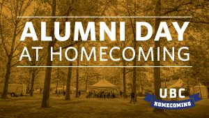 Alumni Day at Homecoming