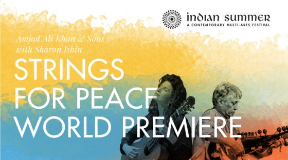 Indian Summer Festival - Strings for Peace World Premiere