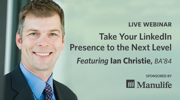 Live Webinar: Take Your LinkedIn Presence to the Next Level