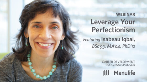 Webinar - Leverage your perfectionism