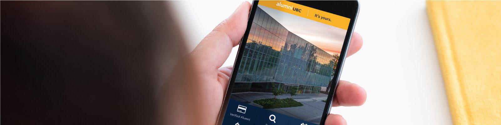 Alumni App image