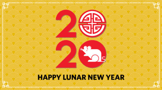 Happy Lunar New Year 2020 - Year of the Rat