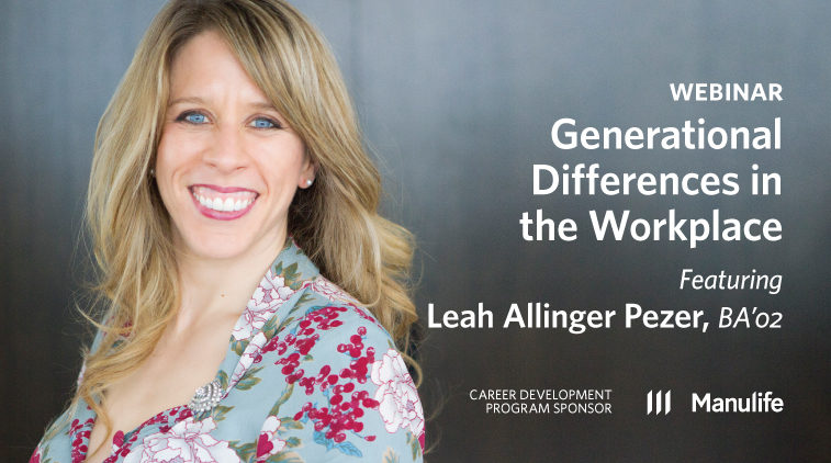 Webinar - Generational Differences in the Workplace