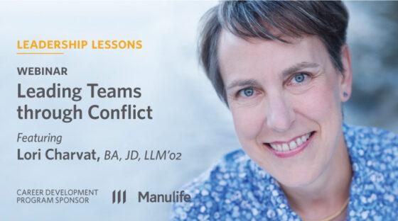 Webinar - Leading Teams through Conflict