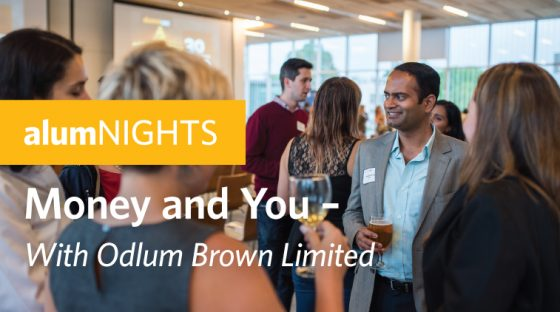 alumNIGHTS: Money and You - With Odlum Brown Limited