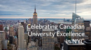 Celebrating Canadian University Excellence in NYC