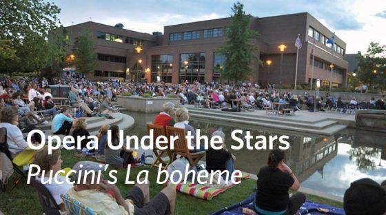 Opera Under the Stars: Puccini's La bohème