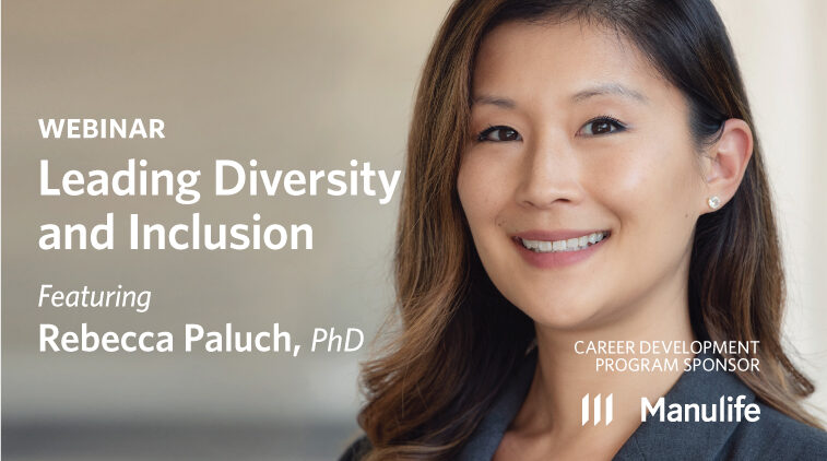 Webinar – Leading Diversity and Inclusion