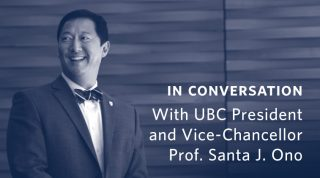 In Conversation with Prof. Santa J. Ono