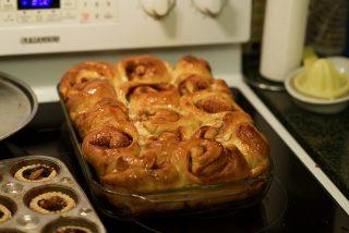 UBC cinnamon buns