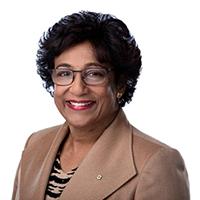 Dr. Indira Samarasekera, OC, PhD'80, LLD'06