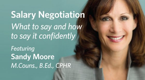 Salary Negotiation: What to say and how to say it confidently