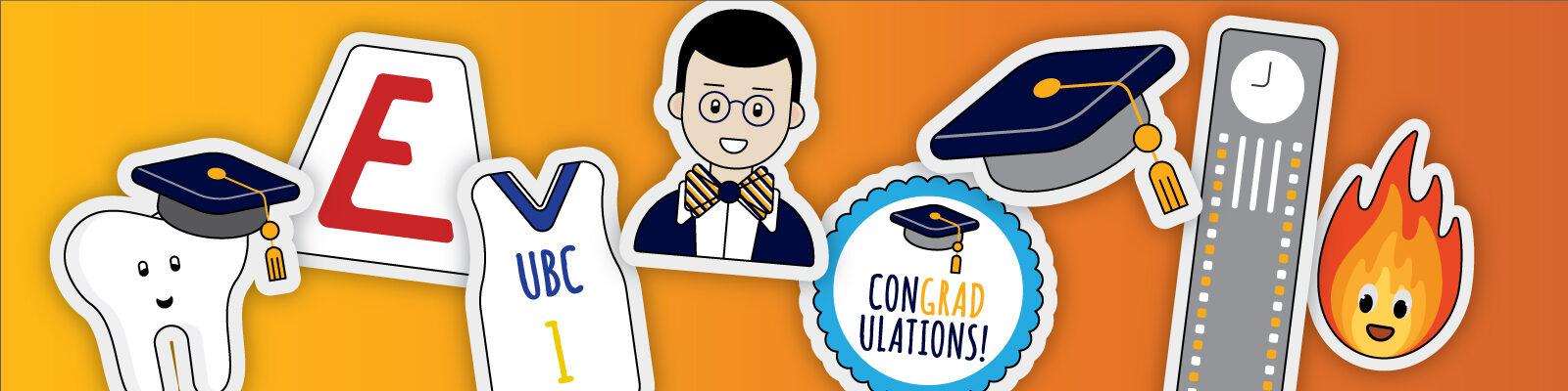 alumni UBC Stickers App