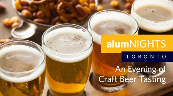 alumNIGHTS: Toronto - An Evening of Craft Beer Tasting