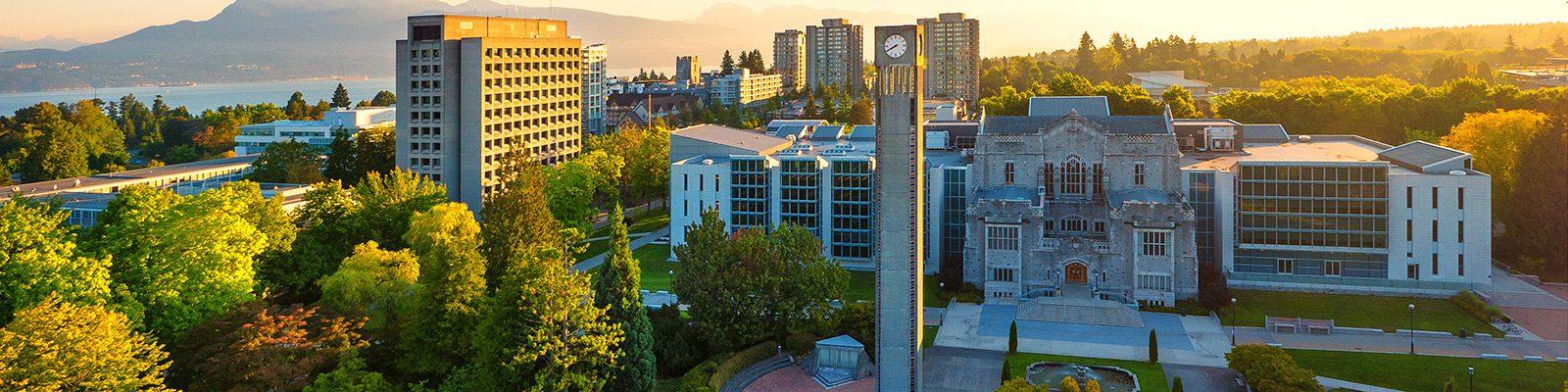 UBC Point Grey Clock Tower East Sunrise 1