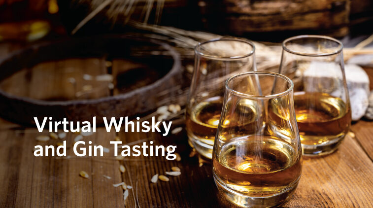 Virtual Whisky and Gin Tasting: Bruichladdich Distillery from Scotland