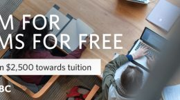 Cram for exams for free. You could win $2500 towards tuition.