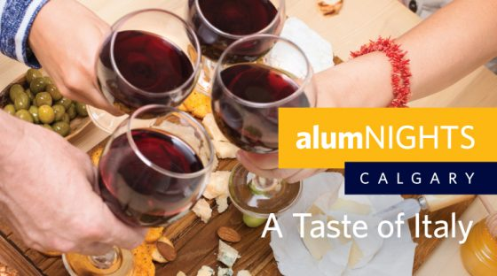alumNIGHTS: Calgary, A Taste of Italy