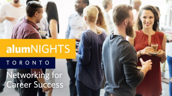alumNIGHTS: Toronto - Networking for Career Success