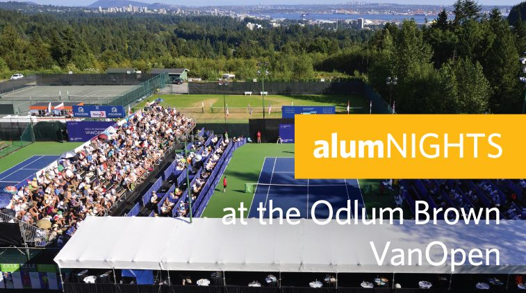 alumNIGHTS at the Odlum Brown VanOpen