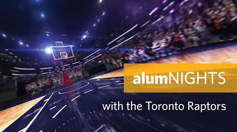 alumNIGHTS with the Toronto Raptors