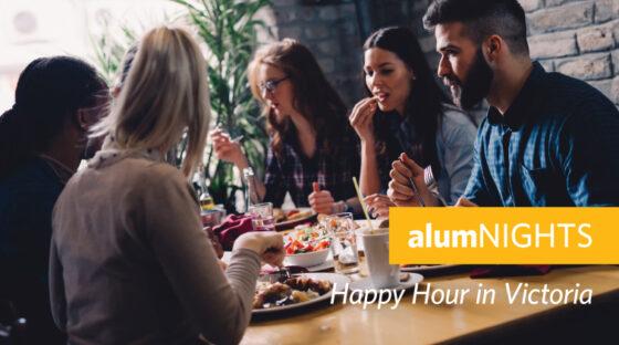 alumNIGHTS: Happy Hour in Victoria