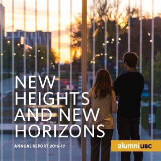 alumni UBC - 2016-17 Annual Report Cover_Page_1