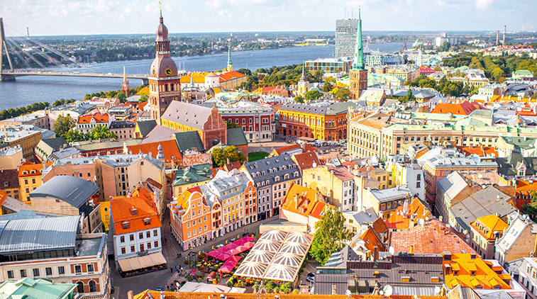 Old Town of Riga, Latvia - Baltics tour