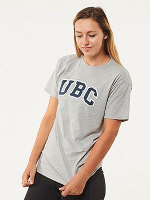 UBC basic screen-print T-shirt