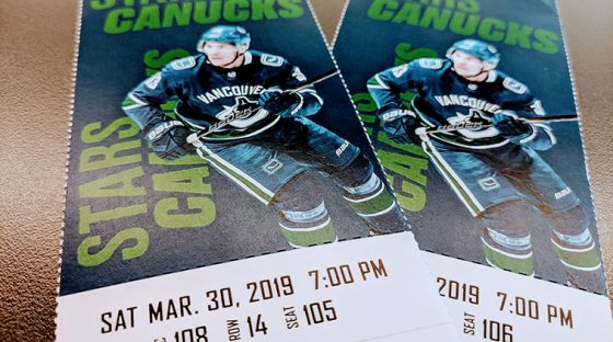 Vancouver Canucks contest